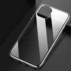 Apple iPhone 11用極薄ソフトケース シリコンケース 耐衝撃 全面保護 クリア透明 U02 アップル クリア
