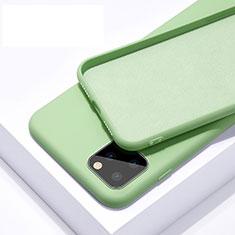 Apple iPhone 11 Pro用360度 フルカバー極薄ソフトケース シリコンケース 耐衝撃 全面保護 バンパー C02 アップル グリーン
