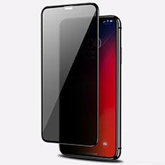 Apple iPhone 11 Pro Max用反スパイ 強化ガラス 液晶保護フィルム アップル クリア