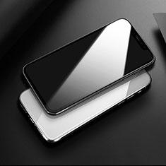 Apple iPhone 11 Pro Max用強化ガラス フル液晶保護フィルム アップル ブラック