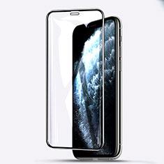 Apple iPhone 11 Pro Max用強化ガラス フル液晶保護フィルム F03 アップル ブラック