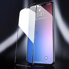 Apple iPhone 11 Pro Max用強化ガラス フル液晶保護フィルム F04 アップル ブラック