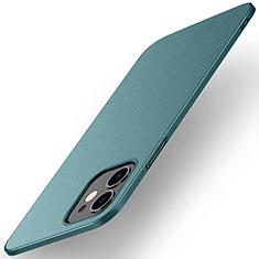 Apple iPhone 12用ハードケース プラスチック 質感もマット カバー M01 アップル グリーン