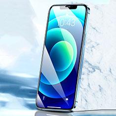 Apple iPhone 12用強化ガラス フル液晶保護フィルム F02 アップル ブラック