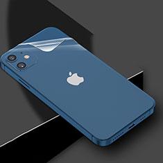 Apple iPhone 12 Mini用背面保護フィルム 背面フィルム アップル クリア