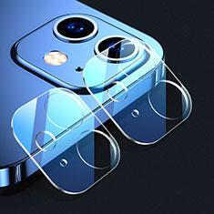Apple iPhone 12 Mini用強化ガラス カメラプロテクター カメラレンズ 保護ガラスフイルム C02 アップル クリア