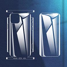 Apple iPhone 12 Mini用高光沢 液晶保護フィルム 背面保護フィルム同梱 アップル クリア