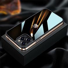Apple iPhone 12 Pro用ケース 高級感 手触り良い アルミメタル 製の金属製 バンパー カバー アップル ゴールド
