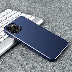 Apple iPhone 12 Pro用極薄ソフトケース シリコンケース 耐衝撃 全面保護 S02 アップル ネイビー