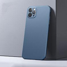 Apple iPhone 12 Pro用ハードケース プラスチック 質感もマット カバー P01 アップル ネイビー