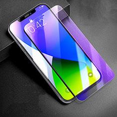 Apple iPhone 12 Pro用アンチグレア ブルーライト 強化ガラス 液晶保護フィルム B01 アップル クリア