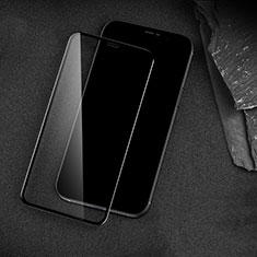 Apple iPhone 12 Pro Max用強化ガラス フル液晶保護フィルム アップル ブラック