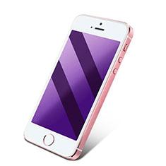 Apple iPhone 4用アンチグレア ブルーライト 強化ガラス 液晶保護フィルム アップル ネイビー