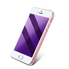 Apple iPhone 4S用アンチグレア ブルーライト 強化ガラス 液晶保護フィルム アップル ネイビー