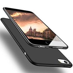 Apple iPhone 5用極薄ソフトケース シリコンケース 耐衝撃 全面保護 U03 アップル ブラック