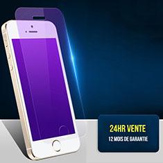 Apple iPhone 5用アンチグレア ブルーライト 強化ガラス 液晶保護フィルム L01 アップル クリア