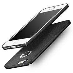 Apple iPhone 5S用ハードケース カバー プラスチック Q01 アップル ブラック