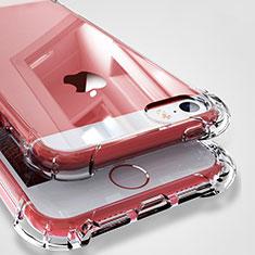 Apple iPhone 5S用極薄ソフトケース シリコンケース 耐衝撃 全面保護 クリア透明 H04 アップル クリア