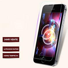 Apple iPhone 5S用強化ガラス 液晶保護フィルム T06 アップル クリア