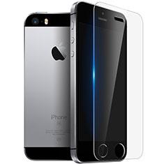 Apple iPhone 5S用強化ガラス 液晶保護フィルム T03 アップル クリア