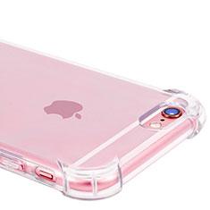 Apple iPhone 6用極薄ソフトケース シリコンケース 耐衝撃 全面保護 クリア透明 H11 アップル クリア