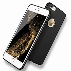 Apple iPhone 6用ハードケース プラスチック 質感もマット P07 アップル ブラック