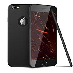 Apple iPhone 6用極薄ソフトケース シリコンケース 耐衝撃 全面保護 U15 アップル ブラック
