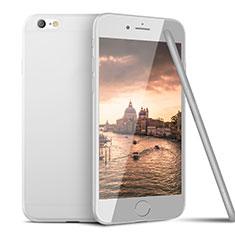 Apple iPhone 6用極薄ソフトケース シリコンケース 耐衝撃 全面保護 U15 アップル ホワイト
