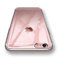 Apple iPhone 6用極薄ソフトケース シリコンケース 耐衝撃 全面保護 クリア透明 H12 アップル クリア