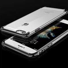 Apple iPhone 6用極薄ソフトケース シリコンケース 耐衝撃 全面保護 クリア透明 HC01 アップル ブラック