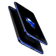 Apple iPhone 6 Plus用極薄ソフトケース シリコンケース 耐衝撃 全面保護 クリア透明 T10 アップル クリア