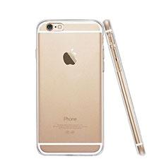 Apple iPhone 6 Plus用極薄ソフトケース シリコンケース 耐衝撃 全面保護 クリア透明 アップル クリア