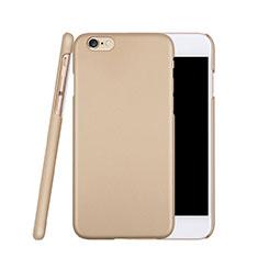 Apple iPhone 6S用ハードケース プラスチック 質感もマット アップル ゴールド