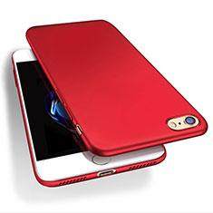 Apple iPhone 7用ハードケース プラスチック 質感もマット Q03 アップル レッド