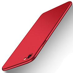 Apple iPhone 7用ハードケース プラスチック 質感もマット M07 アップル レッド
