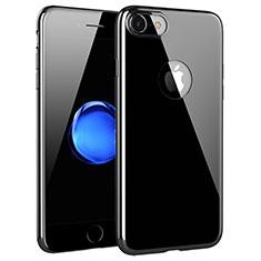 Apple iPhone 8用極薄ソフトケース シリコンケース 耐衝撃 全面保護 クリア透明 T15 アップル クリア