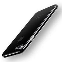Apple iPhone 8用極薄ソフトケース シリコンケース 耐衝撃 全面保護 クリア透明 T20 アップル クリア