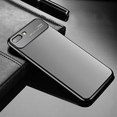 Apple iPhone 8 Plus用ハードケース プラスチック 質感もマット Z01 アップル ブラック