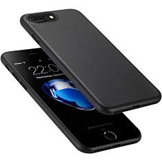 Apple iPhone 8 Plus用極薄ケース クリア プラスチック アップル ブラック