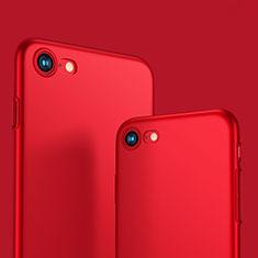 Apple iPhone SE (2020)用ハードケース プラスチック 質感もマット M10 アップル レッド