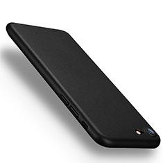 Apple iPhone SE (2020)用極薄ハードケース プラスチック 質感もマット アップル ブラック