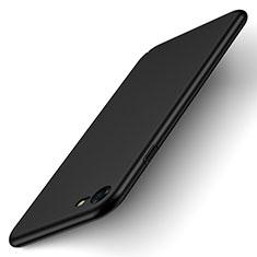 Apple iPhone SE (2020)用ハードケース プラスチック 質感もマット アップル ブラック