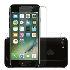 Apple iPhone SE (2020)用強化ガラス 液晶保護フィルム F09 アップル クリア