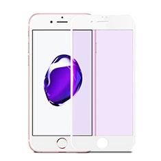 Apple iPhone SE (2020)用強化ガラス フル液晶保護フィルム F17 アップル ホワイト