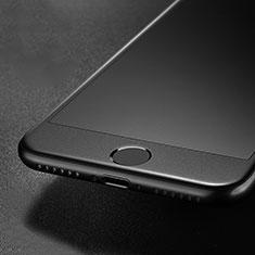 Apple iPhone SE (2020)用強化ガラス フル液晶保護フィルム G01 アップル ブラック