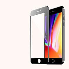 Apple iPhone SE (2020)用強化ガラス 3D 液晶保護フィルム アップル ブラック