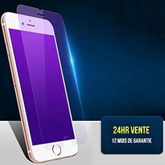 Apple iPhone SE (2020)用アンチグレア ブルーライト 強化ガラス 液晶保護フィルム B01 アップル ネイビー
