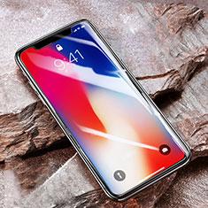 Apple iPhone X用強化ガラス 液晶保護フィルム アップル クリア