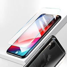 Apple iPhone XR用強化ガラス 液晶保護フィルム T02 アップル クリア