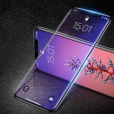 Apple iPhone Xs用強化ガラス フル液晶保護フィルム F29 アップル ブラック